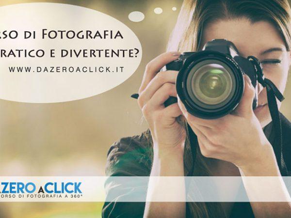 Corso di fotografia a 360°