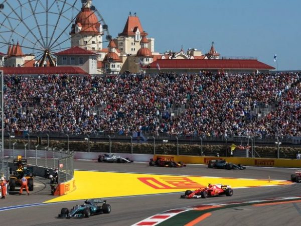 Conferenza GP Formula 1 Russia