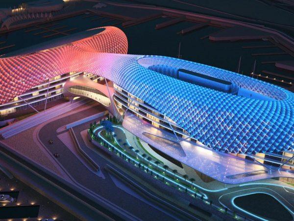 Formula 1 2018 Abu Dhabi, la partenza.