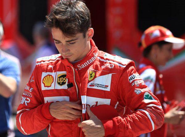 Leclerc il futuro della Ferrari.