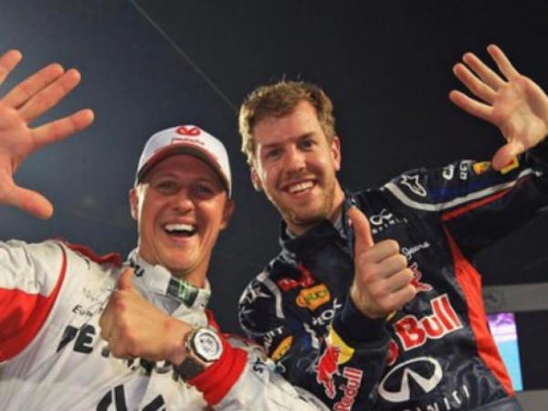Le sensazioni di Vettel