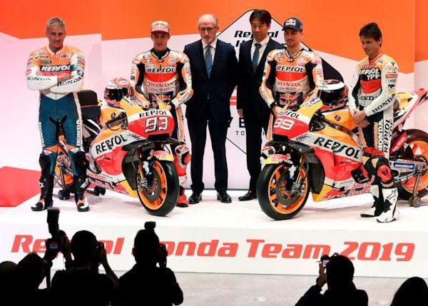 Presentazione Honda – Moto GP 2019