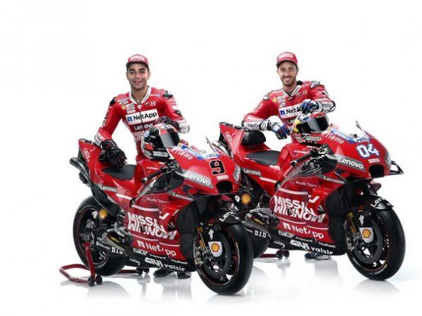 Le interviste per la Presentazione della nuova Ducati – Moto GP 2019