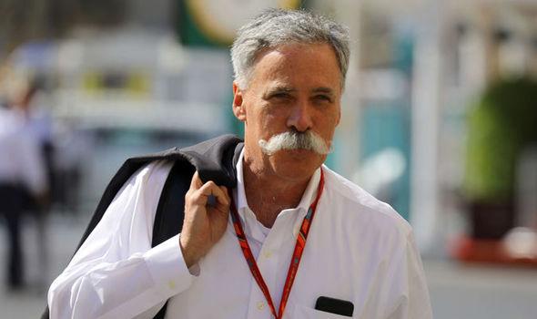 Il CEO della Formula 1 fa il suo augurio alle donne