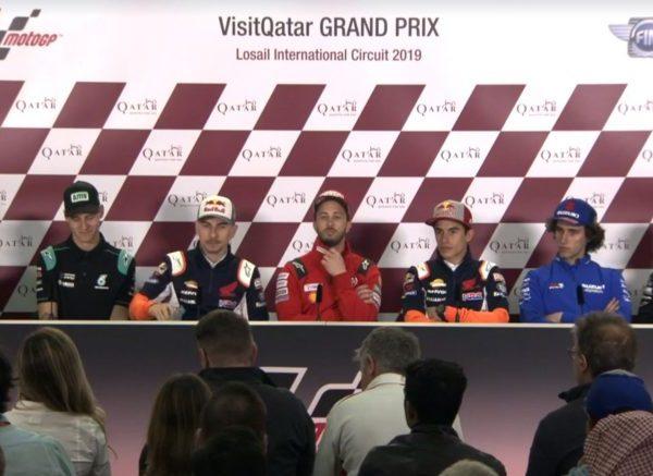 MotoGP Qatar 2019 – Conferenza stampa