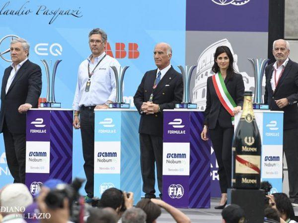 Formula E, Roma taglia un traguardo importante