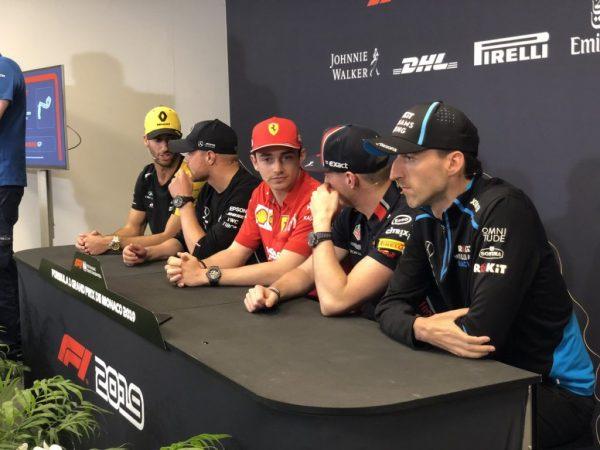 Monaco 2019 GP F1 - Conferenza stampa
