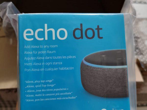 Amazon Alexa Echo dot: prova superata!
