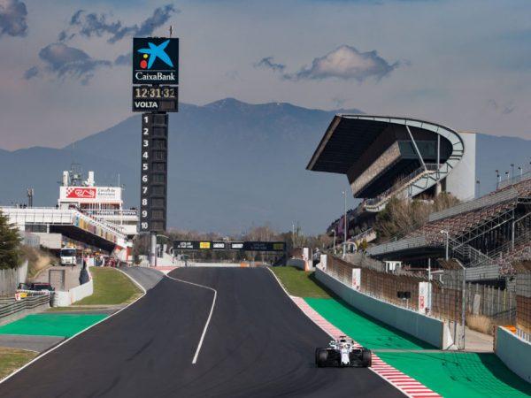 F1 2019 Spagna - la partenza