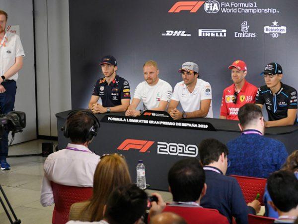 GP Formula 1 Spagna - Conferenza stampa