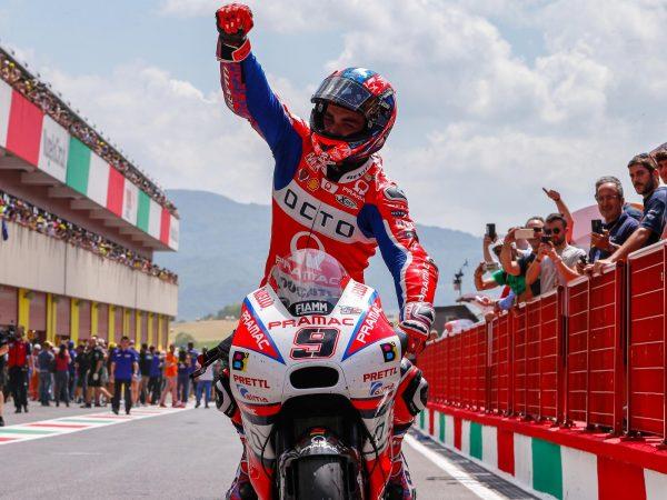 MotoGP 2019 Mugello - la gara