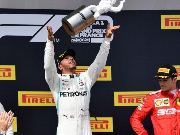 F1 2019 Francia - la gara