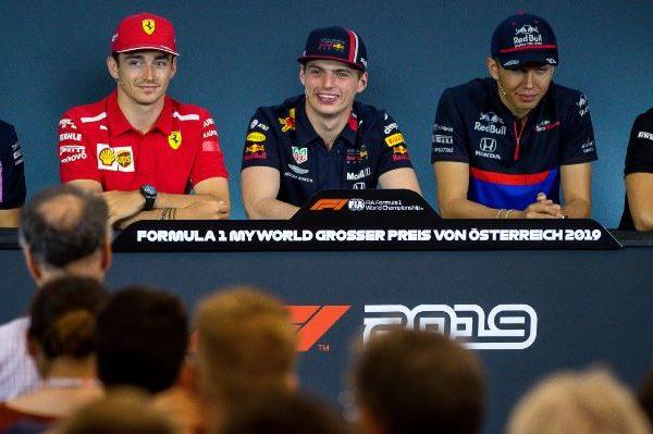 F1 2019 Austria - Conferenza Stampa