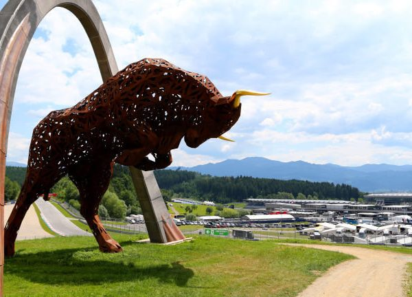 GP Formula 1 Red Bull Ring - il paddock