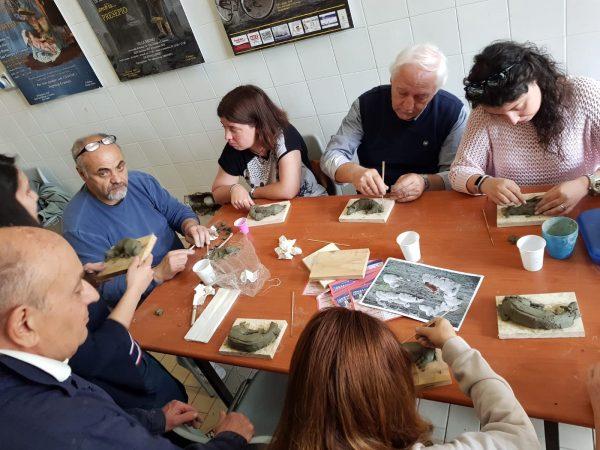 """A.I.A.P. Sede San Giorgio a Cremano presenta """"L'arte di modellare la creta"""""""