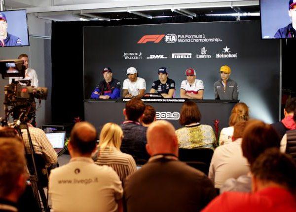 GP Formula 1 Canada - Conferenza stampa