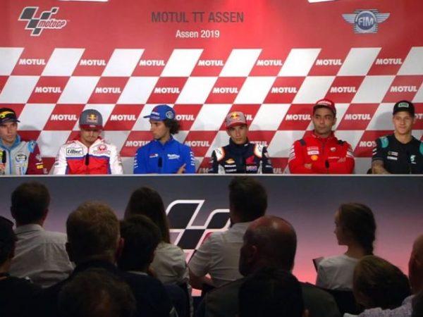 MotoGP Olanda - Conferenza Stampa