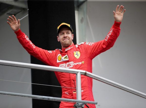 La rivincita di Vettel