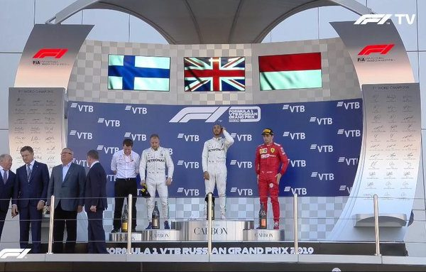 Sochi 2019 GP F1 – la gara