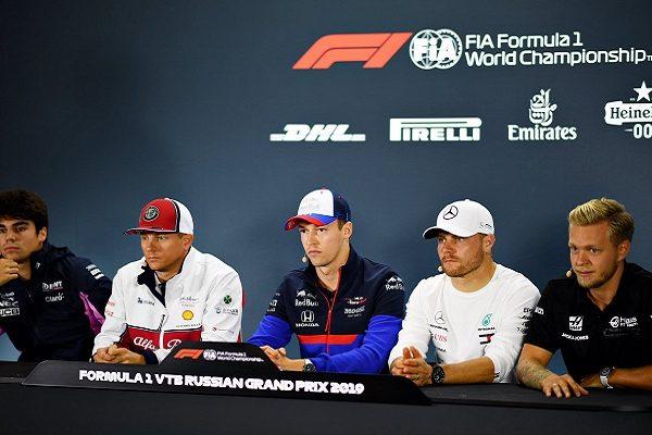 Formula 1 2019 Russia – Conferenza stampa