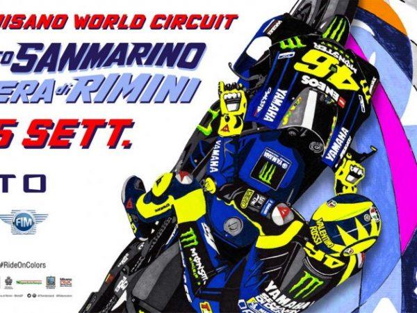 Misano si colora per la MotoGP