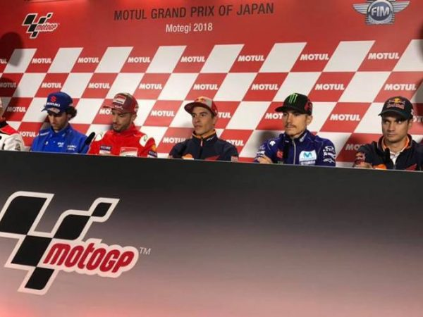 MotoGP Giappone 2019 - conferenza stampa