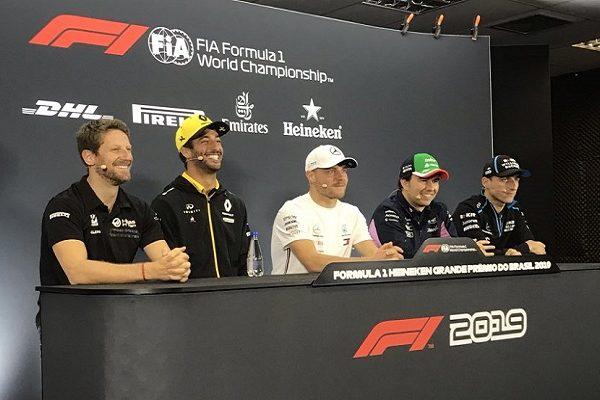 San Paolo 2019 GP F1 – Conferenza stampa