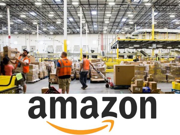 Amazon - Centri di distribuzione ordini
