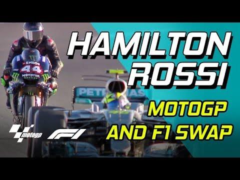 Rossi e Hamilton le sensazioni a fine giornata