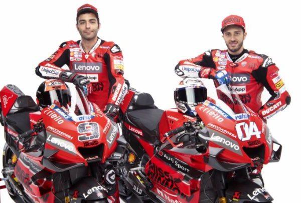 La Ducati presenta la nuova moto per il 2020