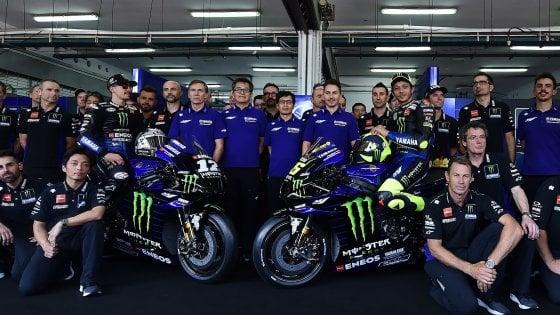 La Yamaha presenta la nuova moto per il 2020
