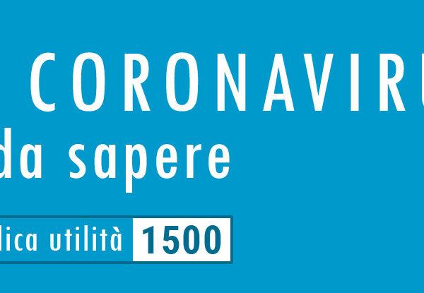 Coronavirus, consigli e precauzioni in Italia