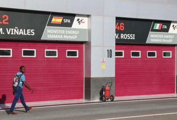 MotoGP in pista
