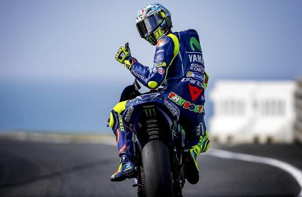 Valentino Rossi contro il Covid-19