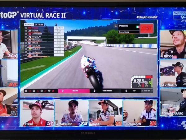 MotoGP Virtuale 2020: in Austria vince Bagnaia