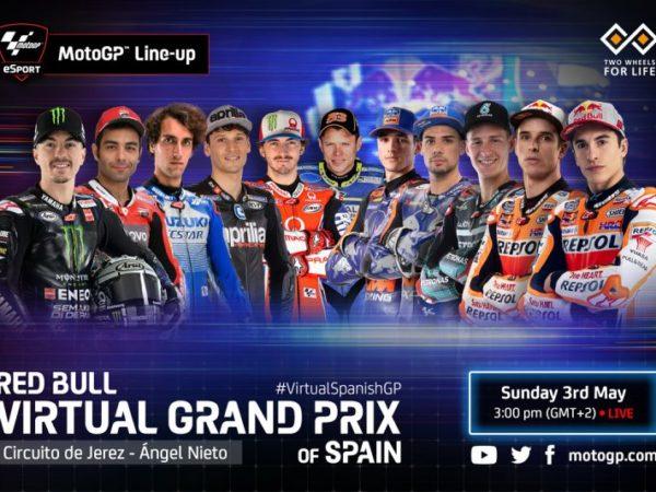 MotoGP Virtuale 2020: domenica 3 maggio GP Spagna