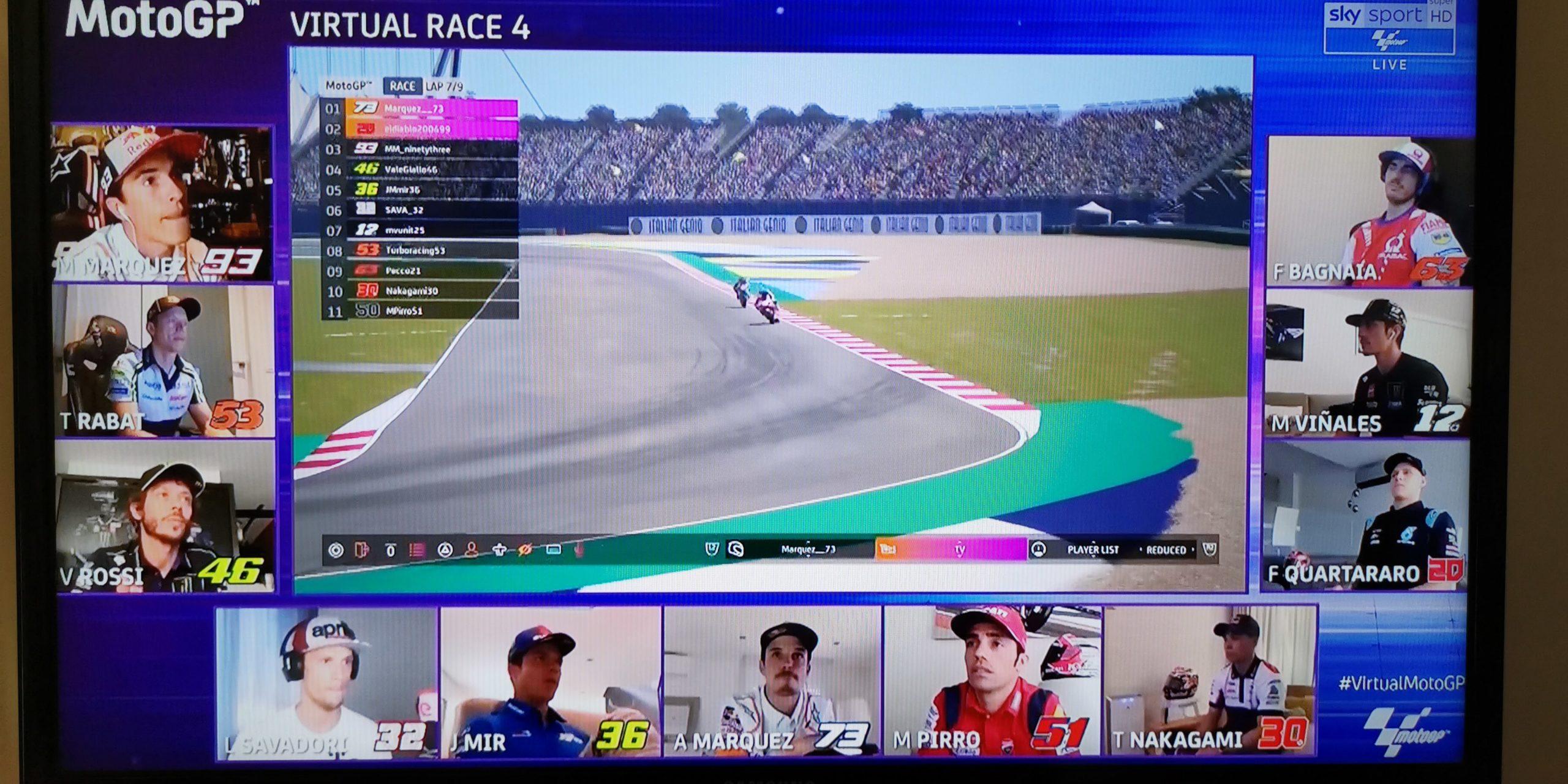 MotoGP Virtuale 2020: i risultati di Silverstone