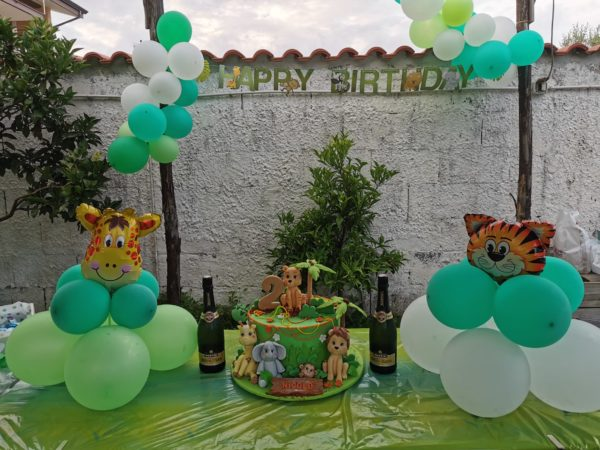 Jungle party con Amazon
