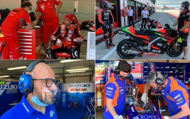 MotoGP – i test di Misano