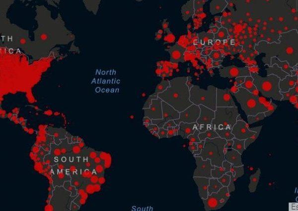 Pandemia i dati in Italia e negli USA