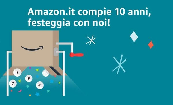 Vinci un Buono Regalo con Amazon