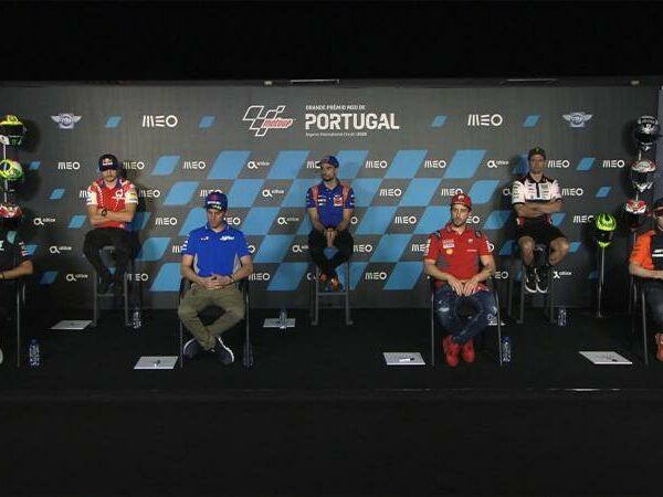 MotoGP 2020 Portogallo – la conferenza stampa