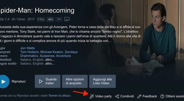 Amazon Prime Video da condividere