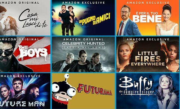 Amazon Prime Video e i nuovi show