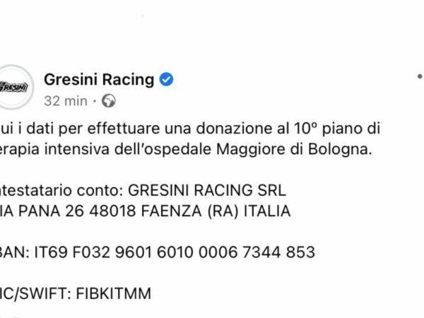 L'addio a Fausto Gresini