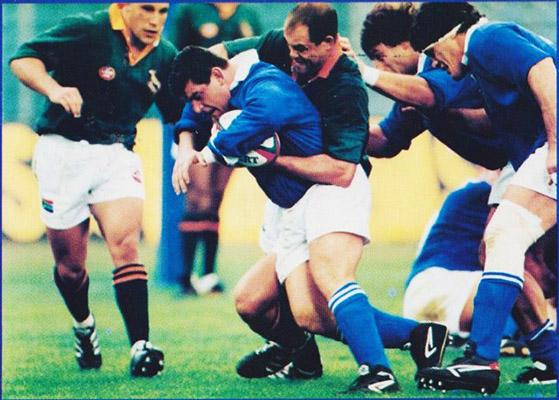 Addio all'ex capitano della Nazionale di Rugby