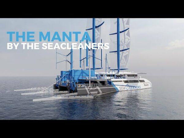 The SeaCleaners, la nave che ripulisce i mari